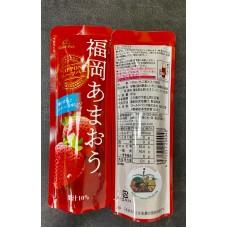 Japan Gold Pak Fukuoka Amaou Strawbeery Juice Pouch 90g